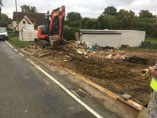 Demolition buildings, Haverhill