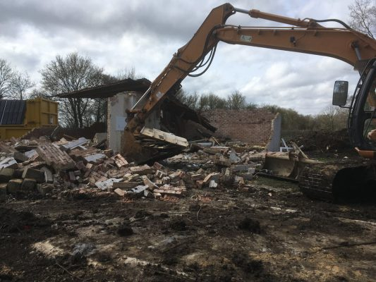 Demolition and Removal of asbestos, Haverhill