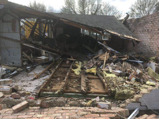 Demolish buildings, Haverhill