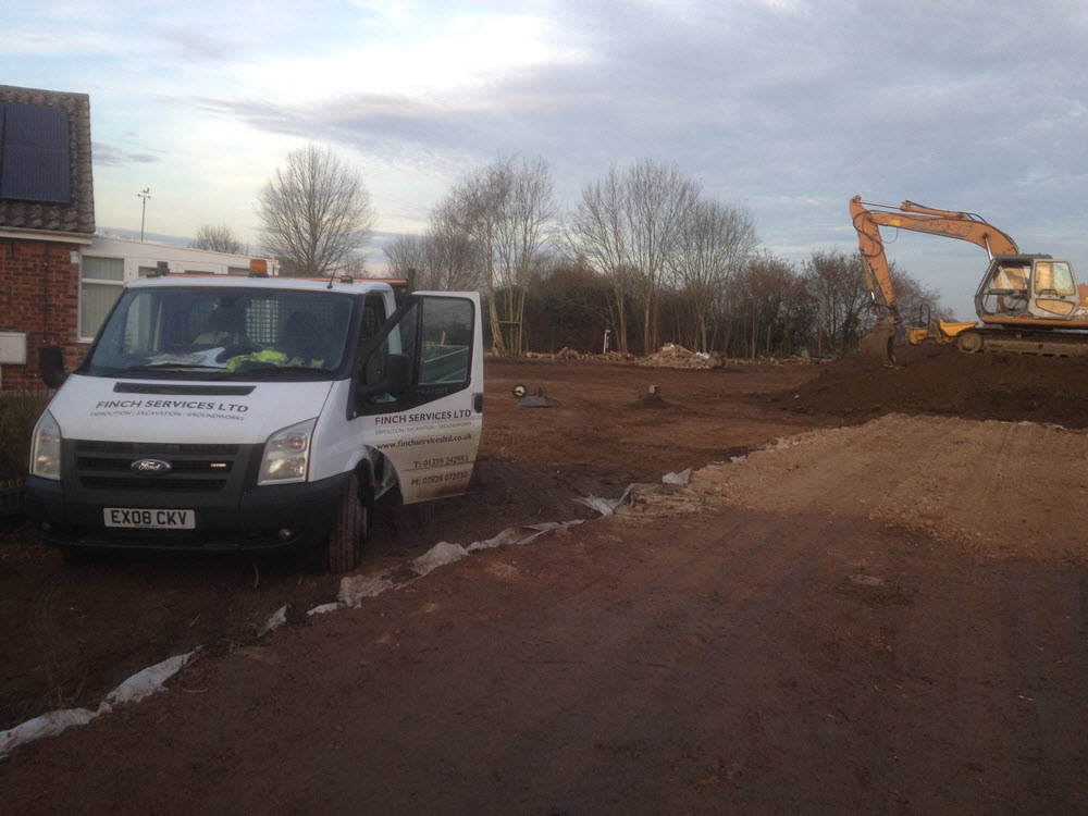excavation & groundworks, Rougham